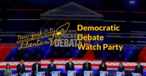 Democratic Debate Watch Party @ Cloister Cafe