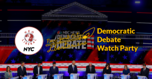 Third Democratic Debate Watch Party @ Cloister Cafe